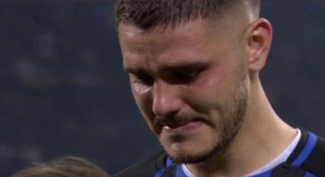 伊卡尔迪落泪