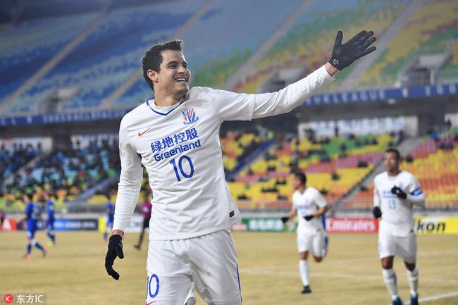 申花外援莫雷诺入选哥伦比亚国家队