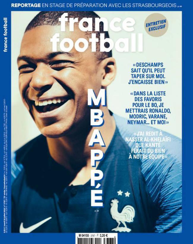 《法国足球》专访姆巴佩